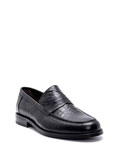 Derimod Erkek Loafer(419) Klasik Siyah